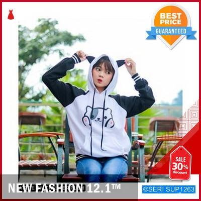 SUP1263Y29 Yippie Bw Swaeter Fleece Wanita Murah BMGShop