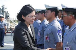 President of Taiwan Tsai Ing-wen