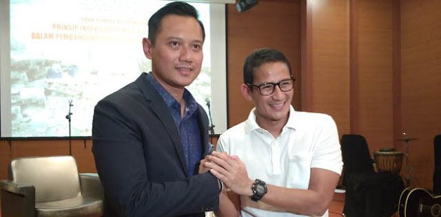 Gerindra Tagih Janji AHY Kampanyekan Sandi, Begini Reaksi Demokrat