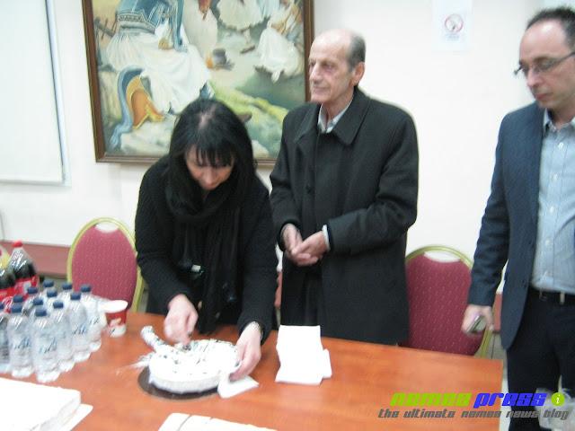 Έκοψε την Πρωτοχρονιάτικη πίτα του ο Δήμος Νεμέας
