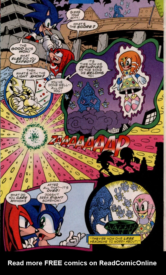 Read online Sonic The Hedgehog comic -  Issue #84 - 16