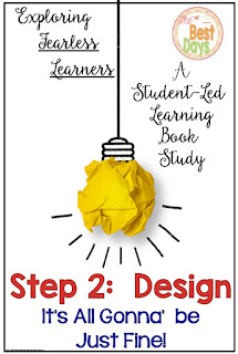 student-led classroom, student designed, teacher facilitator, book study, design in the classroom, classroom climate, teacher as facilitator, student as leader