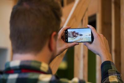 Capture 360-degree photos using Facebook app