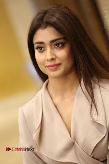 Actress Shriya Saran Stills in Stylish Dress at Gautamiputra Satakarni Team Press Meet  0029.JPG