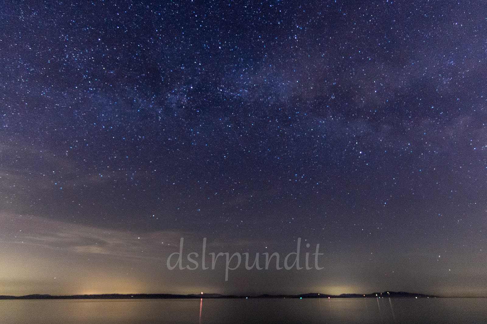 Night dslr photography