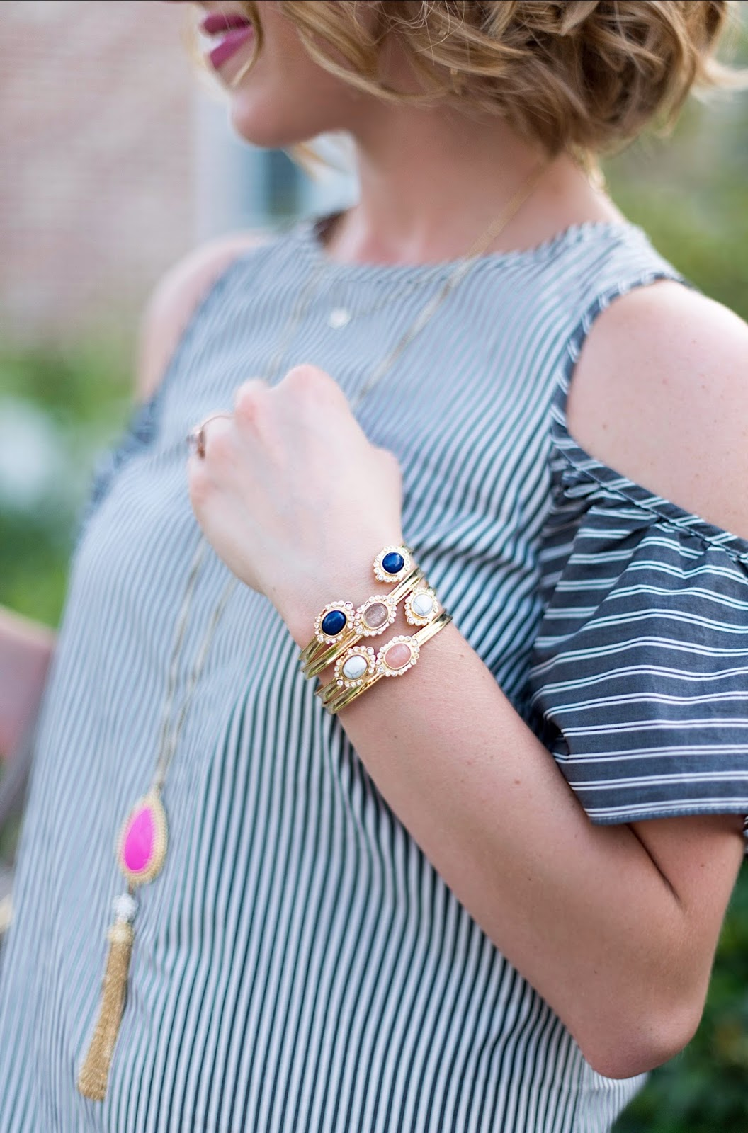 Frazier Lynn Bracelets - Click through to see more on Something Delightful Blog!