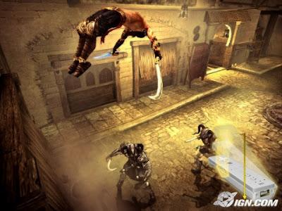 Gráficos del Príncipe de Persia el juego de los dos tronos de GameCube