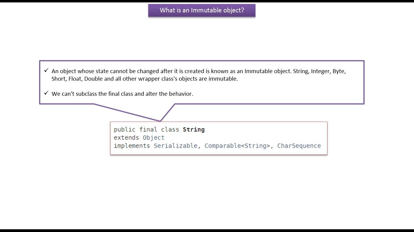 Java ee java tutorial java stringwhat is an immutable object java tutorial java stringwhat is an immutable object baditri Gallery