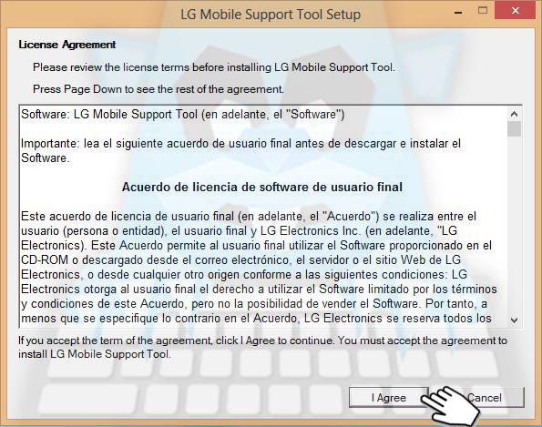 Descargar e Instalar LG Mobile Support Tool | El Blog del Topo