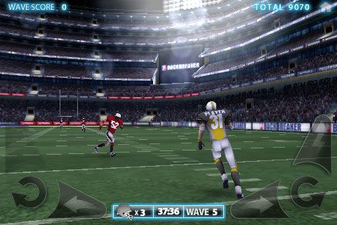 BackBreaker BackBreaker Football HD disponível para Symbian^3