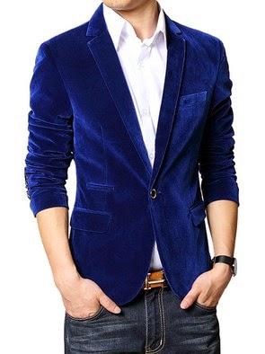 Trend fashion style gaya busana pria - Bahan beludru