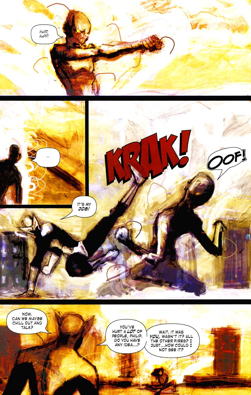 Read online ShadowHawk (2005) comic -  Issue #8 - 16