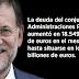 La deuda pública en España supera por primera vez los 1,1 billones de euros