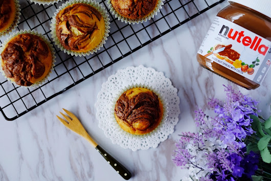 Orange Nutella Muffins