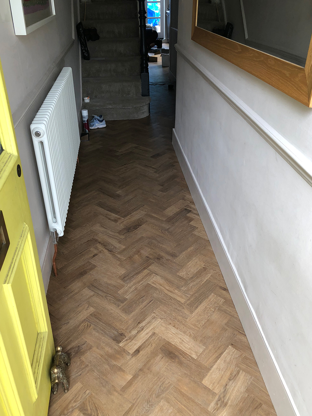 Amtico Flooring Installation AKA My Dream Parquet Floor - French For Pineapple Blog