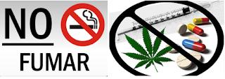 no fumar no drogarse