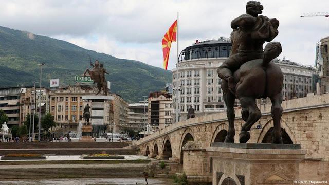 Η νέα συμπλοκή Σλάβων και Αλβανών στα Σκόπια και το πραξικόπημα - οπερέτα