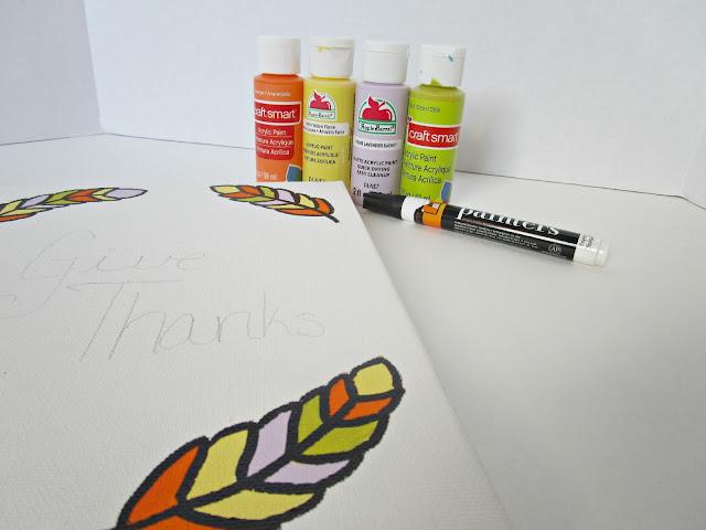Thanksgiving DIY Art Print