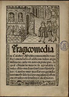 F. de Rojas, Tragicomedia de Calisto y Melibea