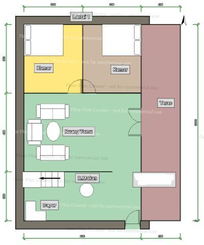 Rumah Kayu Type (2 lantai) 160 m2 - Rumah Kayu Bongkar ...