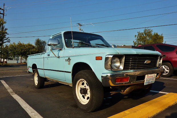Chevy Luv 4x4 Trucks - Year of Clean Water