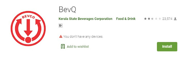 Download BevQ App From Google Play Store