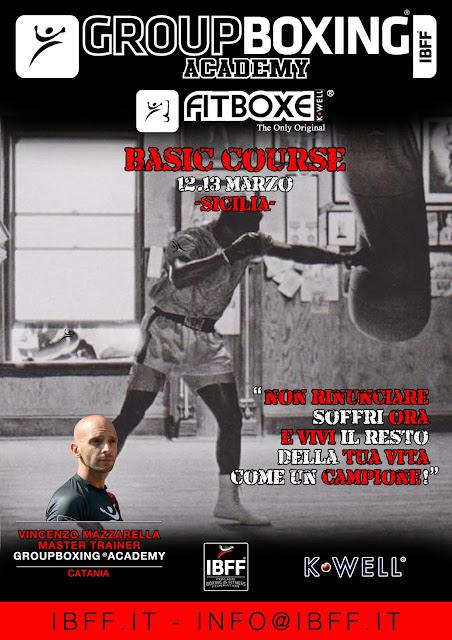 GB® FitBoxe® Basic- Sicilia, 12.13 Marzo 2016 - Sicilia- Catania