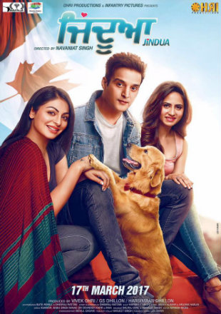 Jindua 2017 pDVDRip 700Mb Punjabi Movie Download Watch Online bolly4u