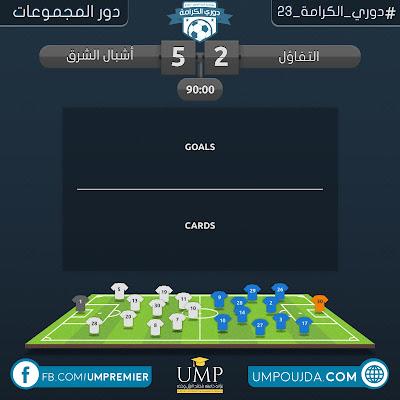 كلية العلوم : دوري الكرامة 23 - دور المجموعات - الجولة الثانية - مباراة 22