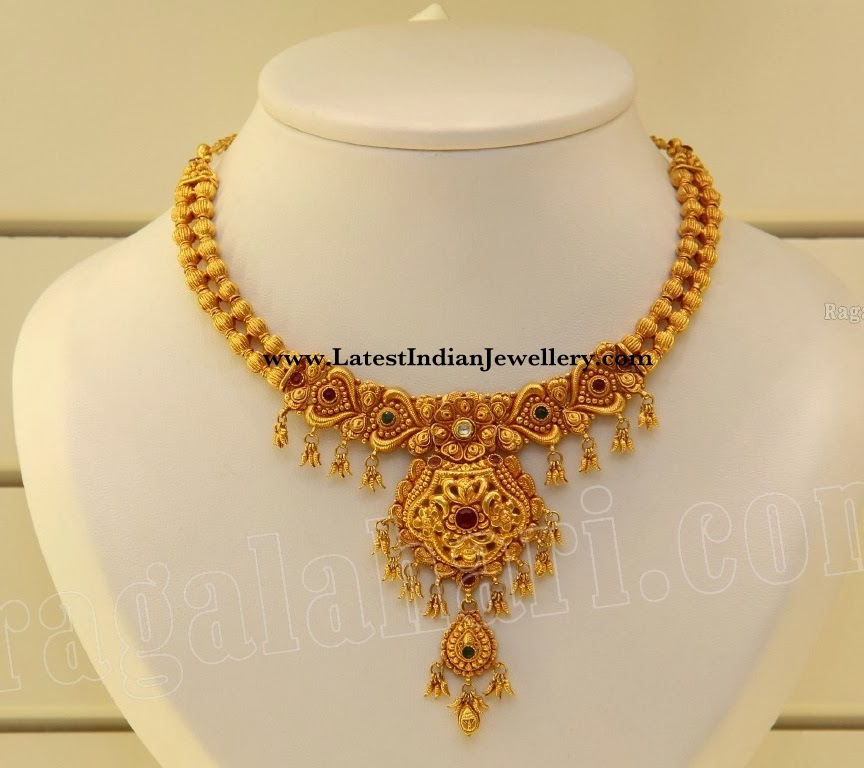 Latest Antique Gold Necklace Latest Indian Jewellery Designs