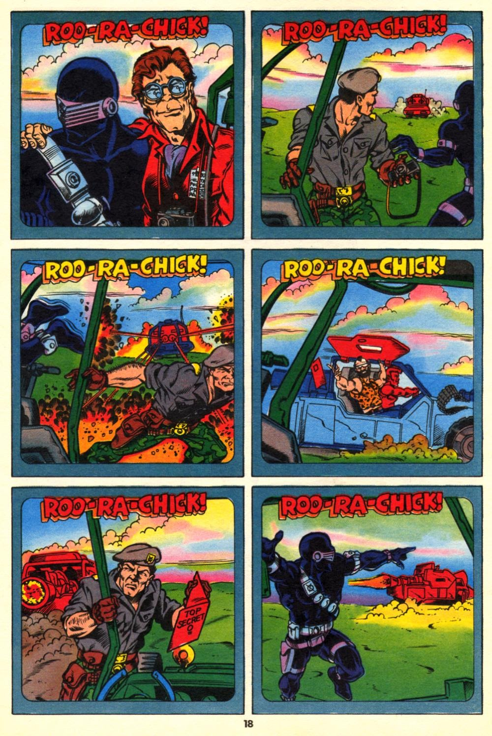 G.I. Joe European Missions issue 10 - Page 18