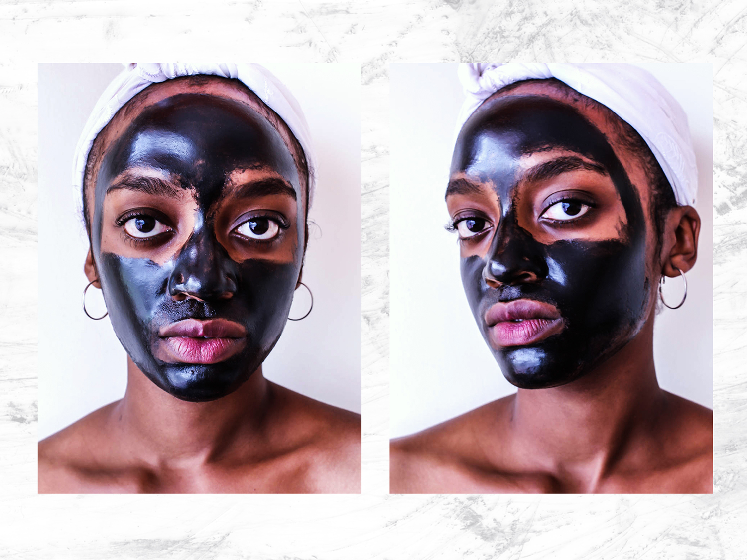 Nadia Darwesh Masque Bar Luminizing Charcoal Peel Off Mask Testing Feature Image