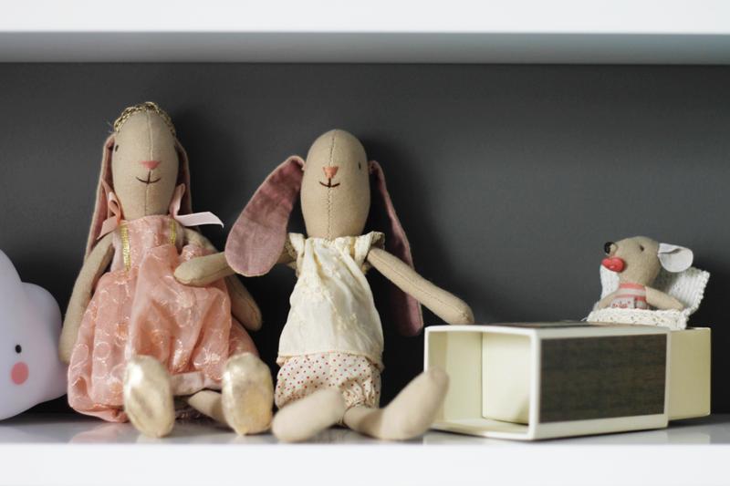zabawki maileg, królik, pluszowy królik, zabawki dla dziewczynek