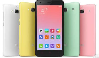 harga spesifikasi Xiaomi Redmi 2 8GB handphone terbaru