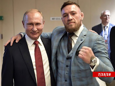 DANA WHITE PUTIN & TRUMP ... You're Invited to McGregor Fight!