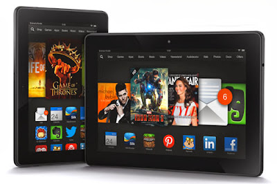 "Amazon Kindle Fire HDX 7"" and 8.9"""