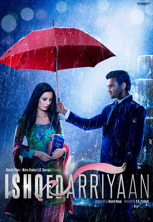 Poster Of Ishqedarriyaan 2015 Hindi 700MB DTHRip x264 Free Download Watch Online