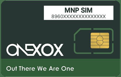 ONEXOX Prepaid MNP