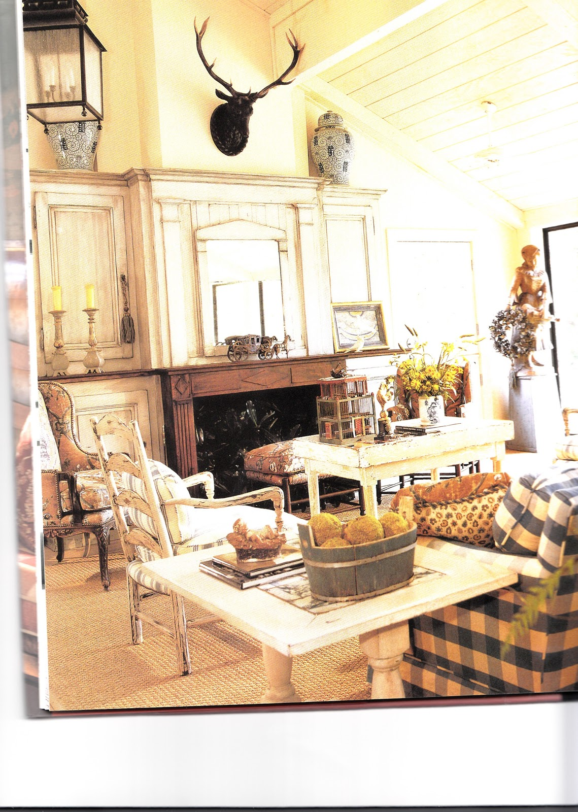 Country Home Interior Design: Hydrangea Hill Cottage: French Country Decorating