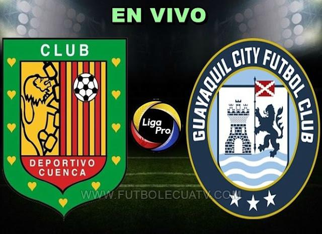 Deportivo Cuenca recibe a Guayaquil City en vivo 📲 a partir de las 19h30 horario local a efectuarse en el estadio Alejandro Serrano Aguilar por la fecha quince del campeonato ecuatoriano, siendo el árbitro principal Daniel Salazar con transmisión del canal autorizado GolTV.