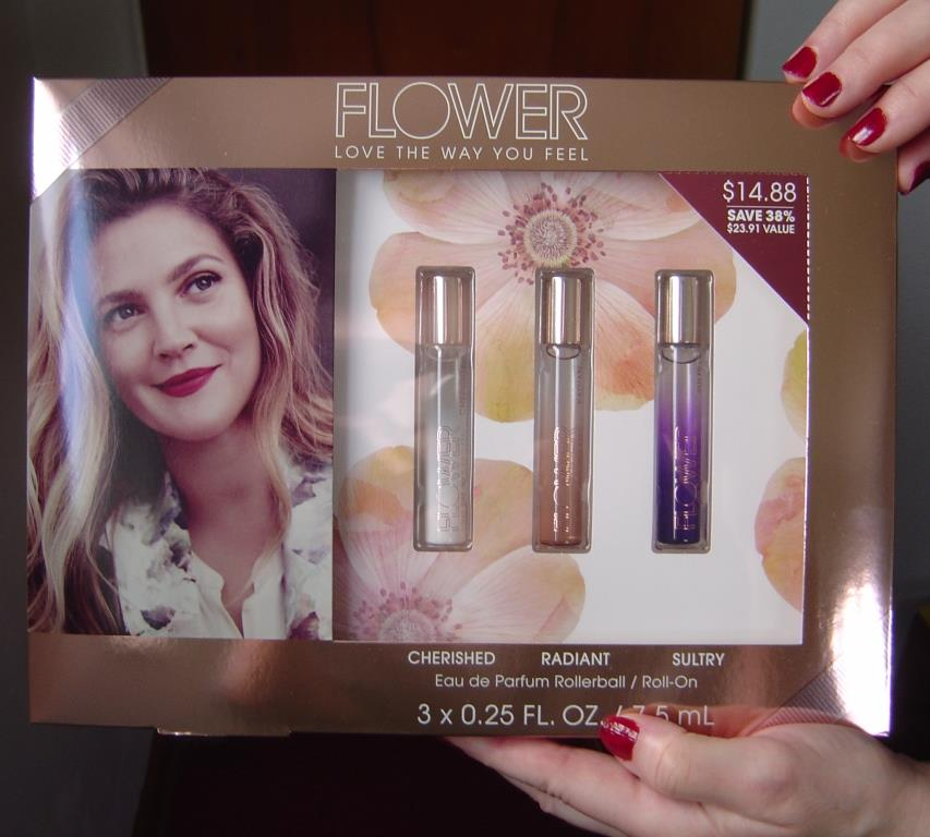 Flower by Drew Barrymore Perfume Rollerball Trio Gift Set