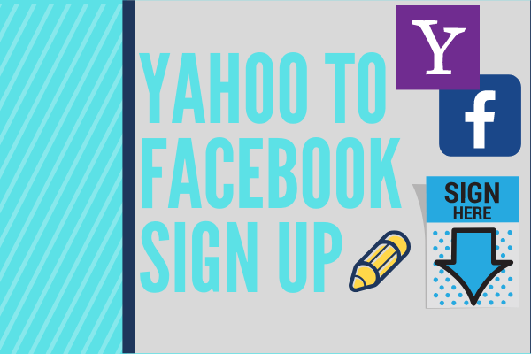 Yahoo To Facebook Sign Up