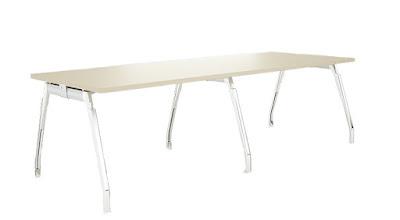 bürosit,burosit,inspira,toplantı masası,ofis toplantı masası,metal ayaklı toplantı