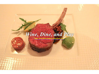 Elysian Fields Farm herb roasted lamb with arrow leaf spinach at the French Laundry