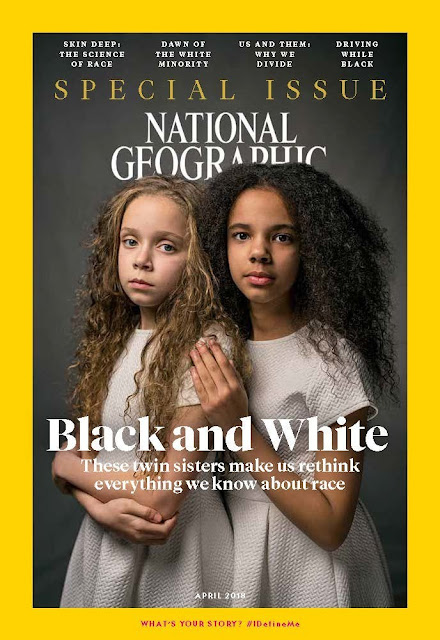 National Geographic Magazine April 2018, The Race Issue