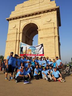 एशियन अस्पताल के स्टाफ ने दिया स्वच्छ भारत का संदेश