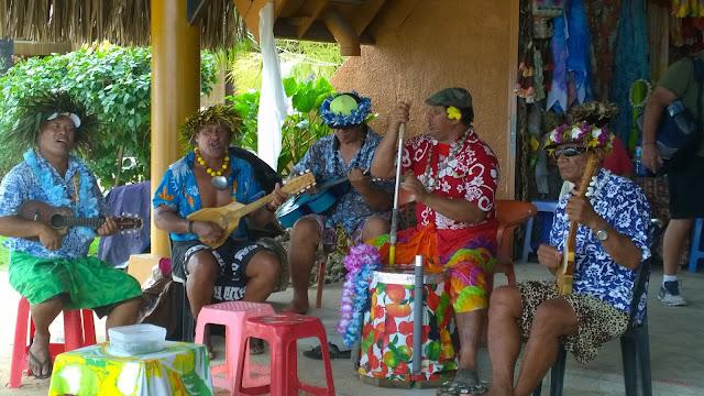 Bora Bora risteily vaitape