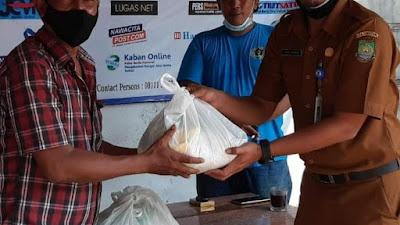 Bentuk Kepedulian, Dinas PUPR Kirim Bantuan Sembako ke Sekretariat PWI Kota Tangerang