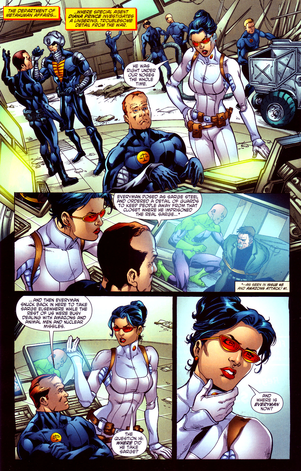 Read online Wonder Woman (2006) comic -  Issue #12 - 6