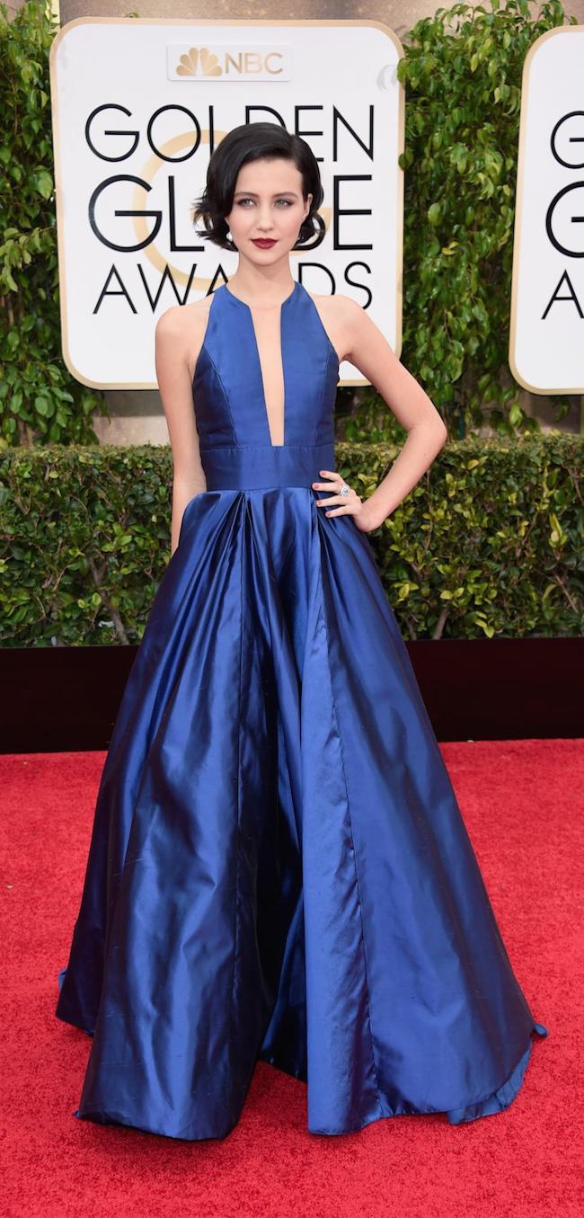 Julia Goldani Telles 2015 Golden Globe Awards